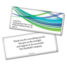 Employee Appreciation Personalized Chocolate Bar Tech Administrative Professionals Day