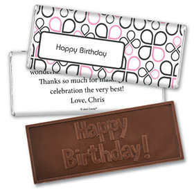 Office Celebration Personalized Embossed Bar