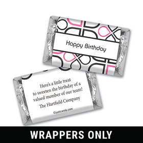 Office Celebration Personalized Miniature Wrappers