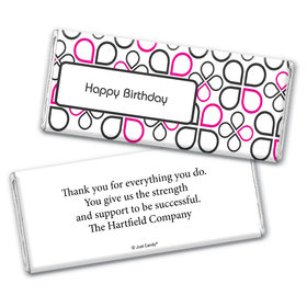 Office Celebration Personalized Candy Bar - Wrapper Only