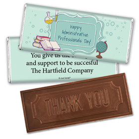 Employee Appreciation Embossed Thank You Chocolate Bar School Administrative Professionals Day