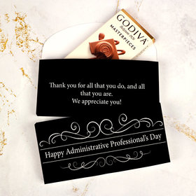 Deluxe Personalized Business Administrative Professionals Godiva Chocolate Bar in Gift Box