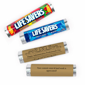 Personalized Thank You You Deserve it Lifesavers Rolls (20 Rolls)