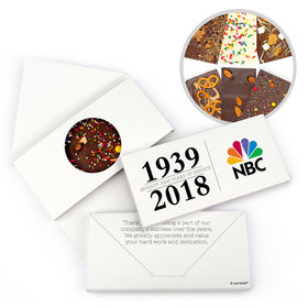 Personalized Span of Years Administrative Professionals Day Gourmet Infused Belgian Chocolate Bars (3.5oz)