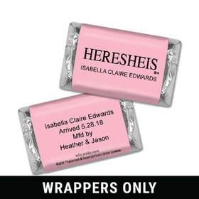 HERESHEIS Baby Girl Personalized Miniature Wrappers
