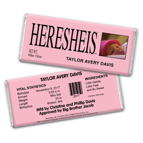 See HERESHEIS Personalized Hershey's Bar Assembled