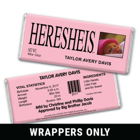 See HERESHEIS Personalized Candy Bar - Wrapper Only