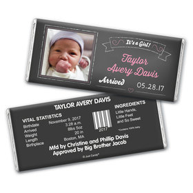 Simple & Sweet Personalized Candy Bar - Wrapper Only