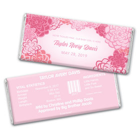 Warm Welcome Personalized Candy Bar - Wrapper Only