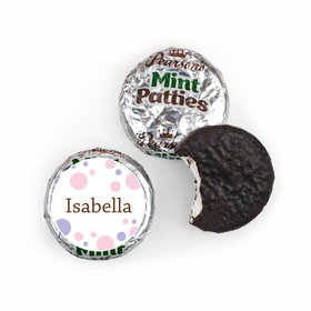 Baby Girl Her Snapshot Pearson's Mint Patties