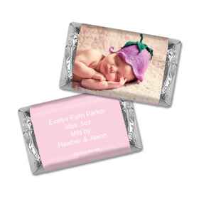 All About Baby Girl MINIATURES Candy Personalized Assembled