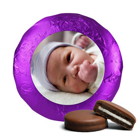Baby Girl Cute Pic Belgian Chocolate Covered Oreo Cookies Assembled