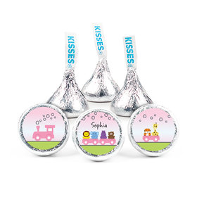 "Choo Choo for Her Baby Girl 3/4"" Sticker (108 Stickers)"
