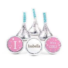 Personalized Girl Birth Announcement Her Snapshot Hershey's Kisses (50 pack)
