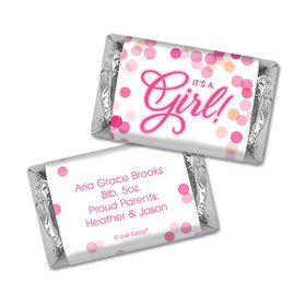 Personalized Birth Announcement Bubbles Hershey's Miniatures