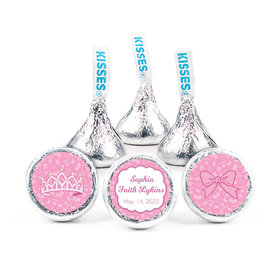 """Personalized 3/4"""" Stickers - Birth Announcement It's A Girl Bundle of Joy (108 Stickers)"""