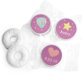 Personalized Hershey's Kisses - Birth Announcement It's A Girl I Have Arrived (50 Pack)
