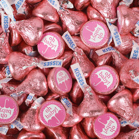 Girl Baby Shower Hershey's Kisses Candy