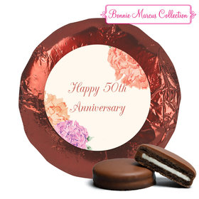 Blooming Joy Anniversary Favors Milk Chocolate Covered Oreo Assembled (24 Pack)