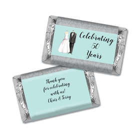 Forever Together Anniversary Personalized Miniature Wrappers