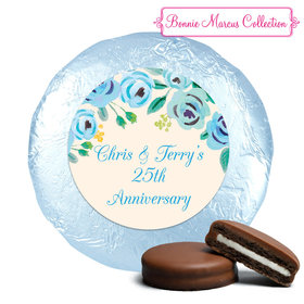 Here's Something Blue Anniversary Milk Chocolate Covered Oreos Assembled (24 Pack)