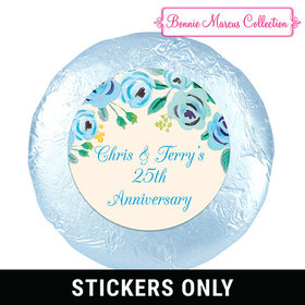 Here's Something Blue Anniversary 1.25in Stickerss
