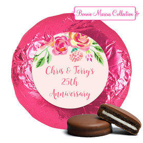 In the Pink Anniversary Favors Milk Chocolate Covered Oreo Assembled (24 Pack)