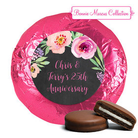 Bonnie Marcus Collection Wedding Anniversary Party Favors Milk Chocolate Covered Oreo Cookies (24 Pack)