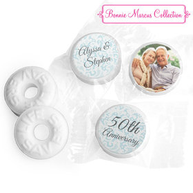 Personalized Life Savers Mints - Bonnie Marcus Anniversary Vintage Linen