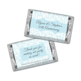 Personalized Mini Wrappers Only - Bonnie Marcus Anniversary Lace Linen