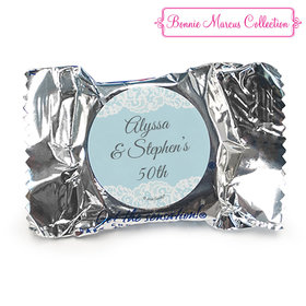 Personalized York Peppermint Patties - Bonnie Marcus Anniversary Lace Linen