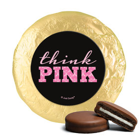 Personalized Bonnie Marcus Chocolate Covered Oreos - Breast Cancer Awareness Pink Power