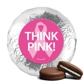 Personalized Bonnie Marcus Chocolate Covered Oreos - Breast Cancer Awareness Simply Pink