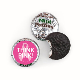 Personalized Bonnie Marcus Pearson's Mint Patties- Breast Cancer Awareness Simply Pink