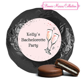 The Bubbly Bachelorette Party Favors Milk Chocolate Covered Oreo Assembled