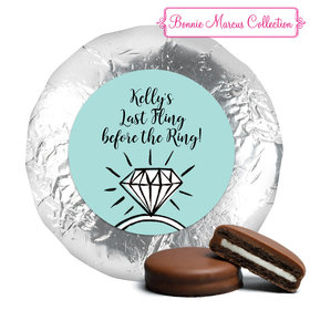 Last Fling Bachelorette Party Milk Chocolate Covered Oreo Assembled