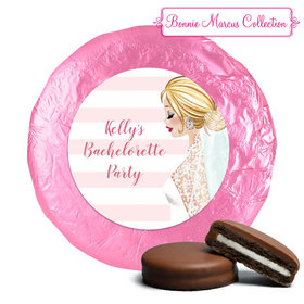 Bonnie Marcus Collection Wedding Bachelorette Party Favors Milk Chocolate Covered Oreo Cookies (24 Pack)