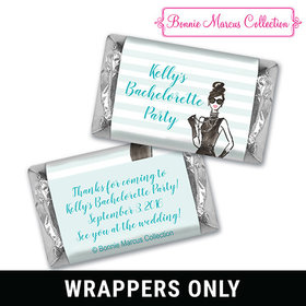 Bonnie Marcus Collection Personalized Candy Bar & Wrapper In Vogue Bachelorette Party Favors