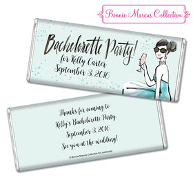 Bonnie Marcus Collection Personalized Chocolate Bar Chocolate and Wrapper Blithe Spirit Bachelorette Party Favor