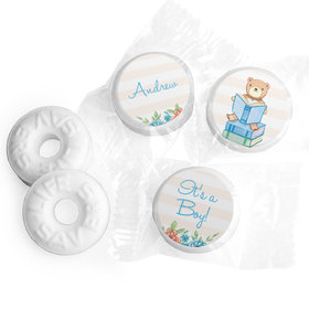 Story Time Baby Boy Personalized LIFE SAVERS Mints Assembled