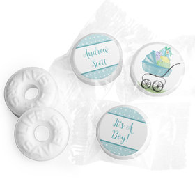 Rockabye Baby Boy Personalized LIFE SAVERS Mints Assembled