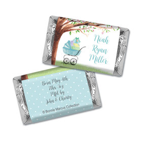Rockabye Baby Birth Announcement Personalized Miniature Wrappers