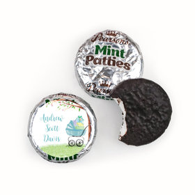 Bonnie Marcus Collection Birth Announcement Boy Baby Announcements Pearsons Mint Patties