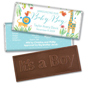 Bonnie Marcus Collection Personalized Embossed Chocolate Bar