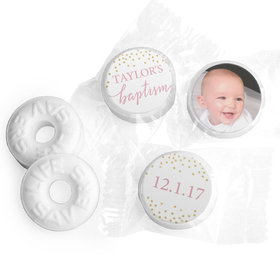Personalized Bonnie Marcus Confetti Baptism Life Savers Mints