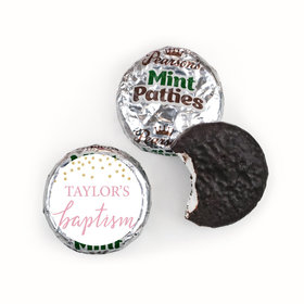 Personalized Bonnie Marcus Confetti Baptism Pearson's Mint Patties
