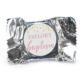 Personalized Bonnie Marcus Confetti Baptism York Peppermint Patties