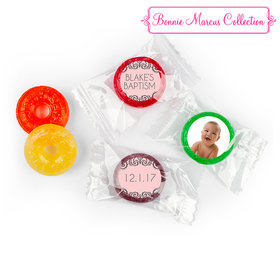 Personalized Bonnie Marcus Scroll Baptism LifeSavers 5 Flavor Hard Candy (300 Pack)