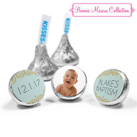 Personalized Bonnie Marcus Scroll Baptism Hershey's Kisses (50 Pack)