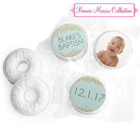 Personalized Bonnie Marcus Scroll Baptism Life Savers Mints